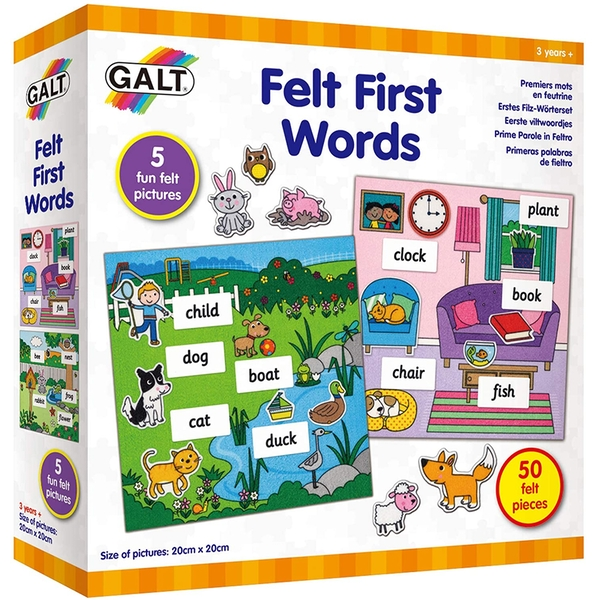 Felt First Words Play & Learn Toy