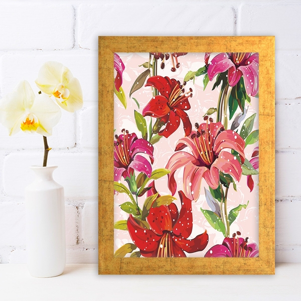 AC69850642 Multicolor Decorative Framed MDF Painting