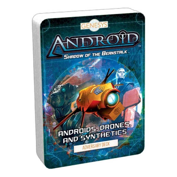 Androids, Drones, and Synthetics Adversary Deck: Shadow of the Beanstalk Genesys RPG