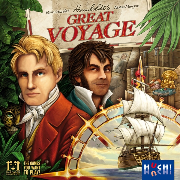 Humboldt's Great Voyage Board Game