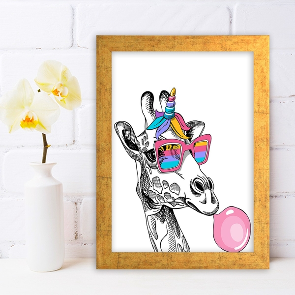 AC1159304287 Multicolor Decorative Framed MDF Painting