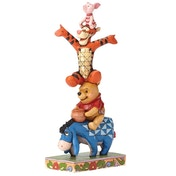 Built By Friendship (Winnie the Pooh) Disney Traditions Figurine