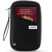 Savisto Multi-Purpose Travel Wallet Organiser | RFID Blocking Passport & Document Holder