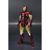 Iron Man Mark VI and Hall of Armor Set (Marvel) Bandai Tamashii Nations Figuarts Figure