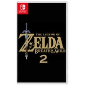 The Legend of Zelda Breath Of The Wild 2 Nintendo Switch Game