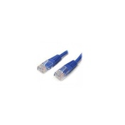 5 ft Blue Molded Cat5e UTP Patch Cable