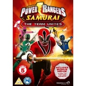 Power Rangers Samurai The Team Unites DVD