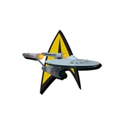 Star Trek Ship And Logo Magnet