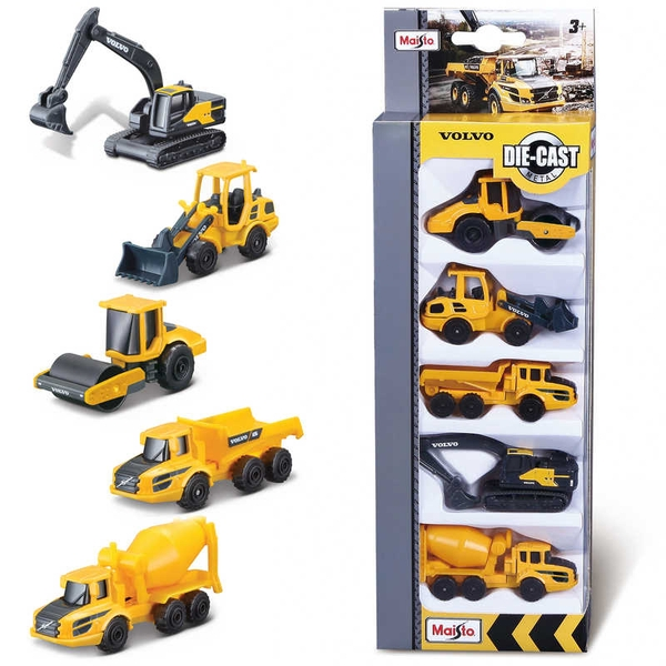Volvo Construction Toy Pack