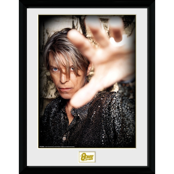 David Bowie Hand Collector Print