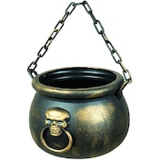 Skull Deluxe Scary Witch Cauldron