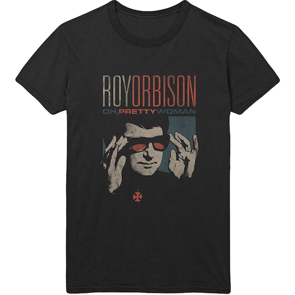 Roy Orbison - Pretty Woman Men's Large T-Shirt - Black