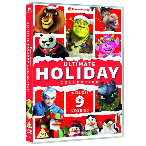 Dreamworks Ultimate Holiday Collection DVD