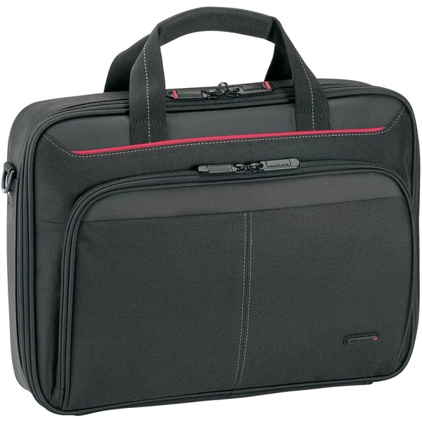 Targus Classic Clamshell Laptop Bag specifically designed to fit up to 12-13.4-Inch Black CN313