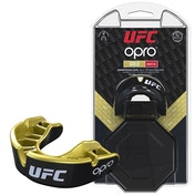UFC Gold Mouthguard by Opro Black/Gold Youths