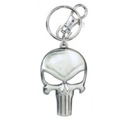Official Marvel Comics Punisher Logo Pewter Keying