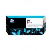 HP NO.80 Magenta Printhead and Cleaner