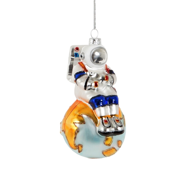 Sass & Belle On Top of The World Astronaut Shaped Bauble