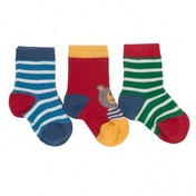 Kite Kids Baby-Boys 0-6 Months 3 Pack Socks