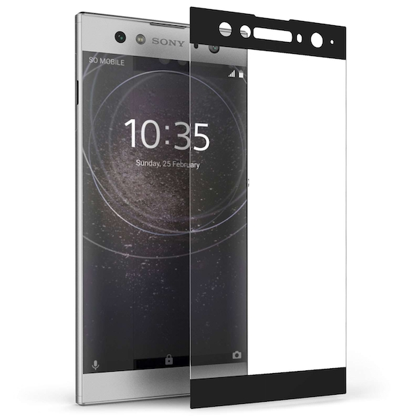 Sony Xperia XA2 Ultra Tempered Glass (Single) - Black Edge