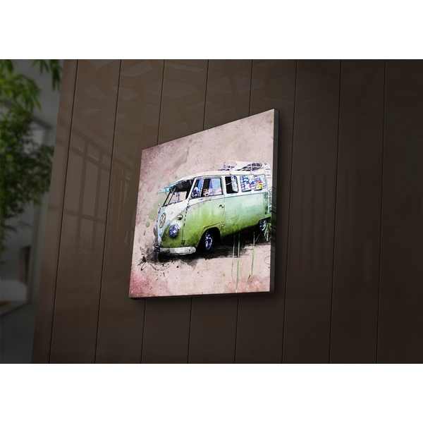2828?ACT-26 Multicolor Decorative Led Lighted Canvas Painting