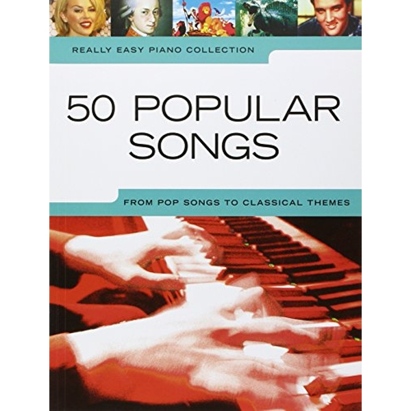 Really Easy Piano: 50 Popular Songs by Music Sales Ltd (Paperback, 2008)