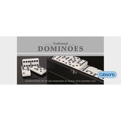 Dominoes Double 6 Game Set