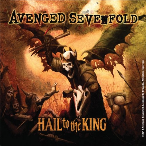 Avenged Sevenfold - Hail to the King Single Cork Coaster