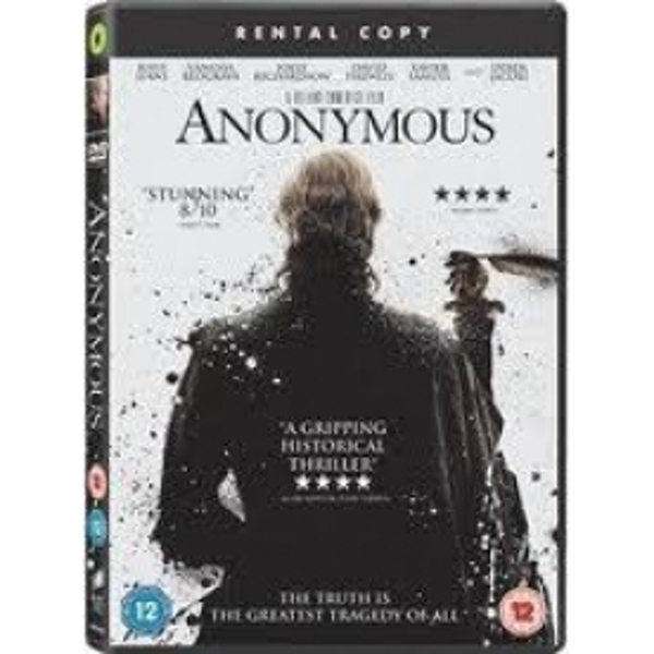 Anonymous Rental DVD