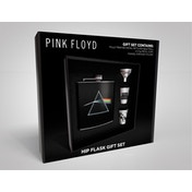 Pink Floyd - Dark Side of the Moon Hip Flask Gift Set