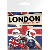 London Freak Out Badge Pack