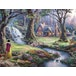 Thomas Kinkade Snow White 1000 Piece Jigsaw Puzzle - Image 2