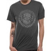 Thor Ragnarok - Contest Men's Medium T-Shirt - Grey