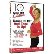 10 Minute Solution Dance It Off And Tone It Up DVD
