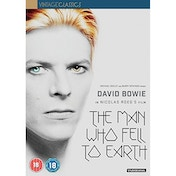 The Man Who Fell To Earth (40th Anniversary) DVD