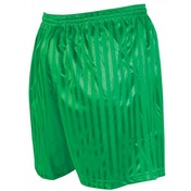 Precision Striped Continental Football Shorts 22-24 inch Green