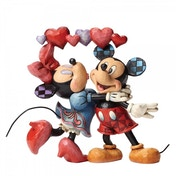 Love is in the Air Mickey and Minnie Mouse (Disney Traditions) Figurine