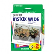 Fuji Instax Wide Picture Format Film Pack of 10 Sheets x2 for 210 300