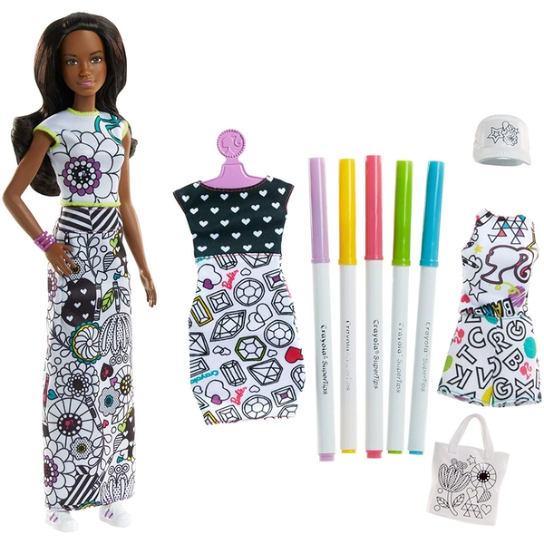 Barbie Crayola Colour Doll & Fashions Barbie - Image 1
