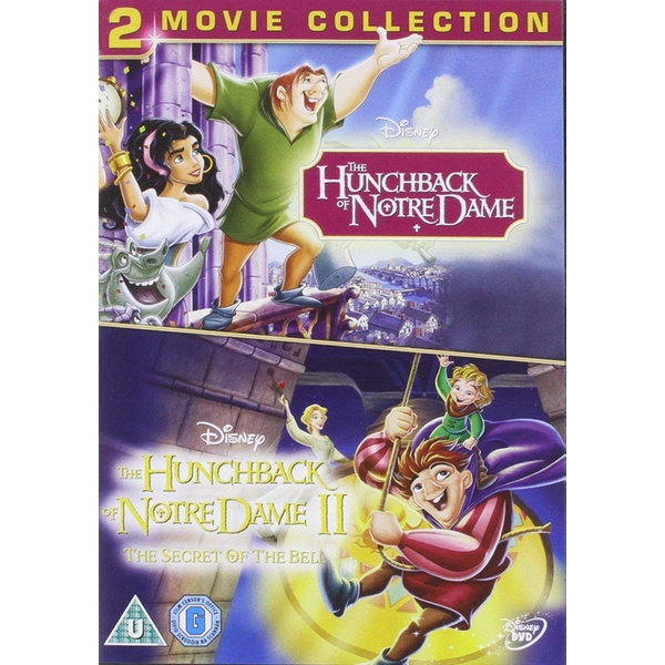 The Hunchback of Notre Dame 1 & 2 DVD