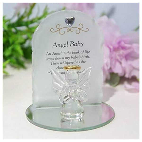 Thoughts Of You Glass Angel Ornament - Angel Baby