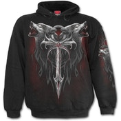 Legend of The Wolves Men's Small Hoodie - Black