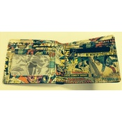 Marvel Retro Comic Strip Wallet Black