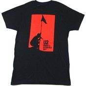 U2 - Blood Red Sky Men's X-Large T-Shirt - Black