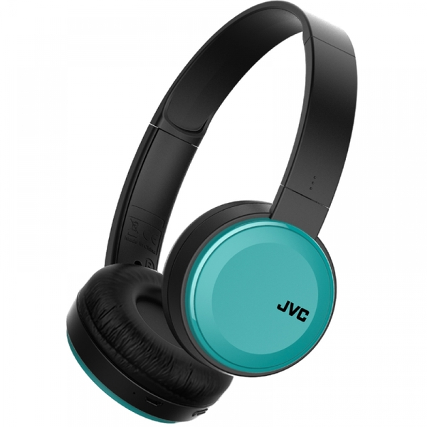 JVC Deep Bass Bluetooth On Ear Headphones Blue