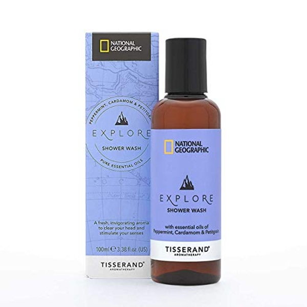Tisserand Aromatherapy National Geographic Explore Shower Wash 100ml