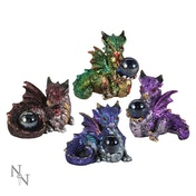 Hatchling Treasures (Pack Of 4) Dragon Figures