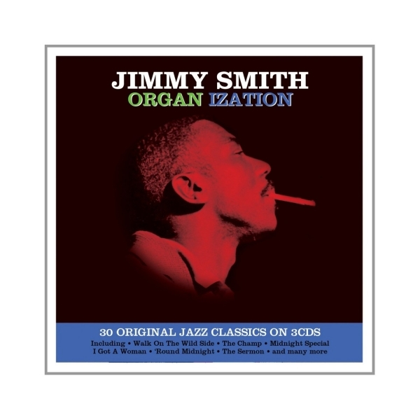 Jimmy Smith - Organ ization 3CD Box Set Music CD