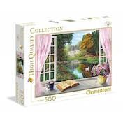 Clementoni Tea Time: View on the Garden Jigsaw Puzzle (500 Piece)
