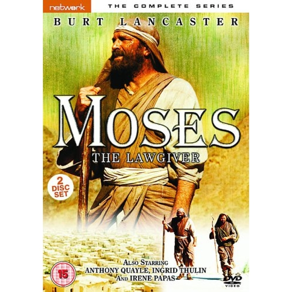 Moses the Lawgiver - The Complete Mini-series DVD